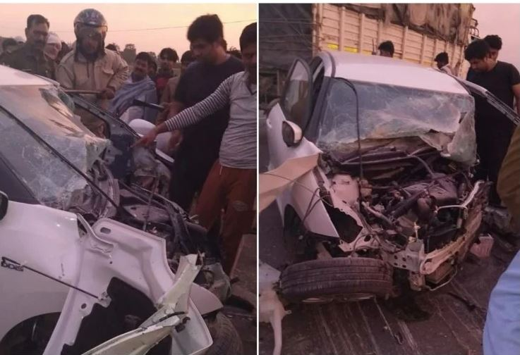 siddharth nagar road accident