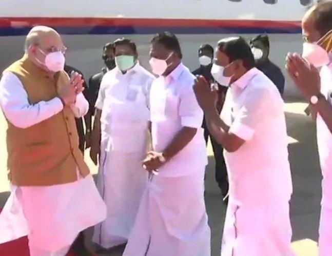 Amit shah to visit Tamil Nadu