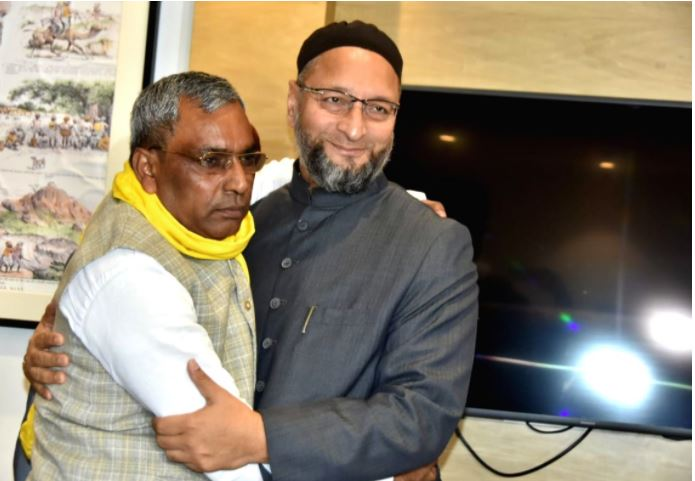 owaisi in lucknow