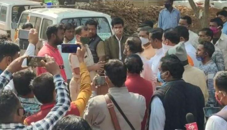 murder of bjp leader in cuttack at odisha