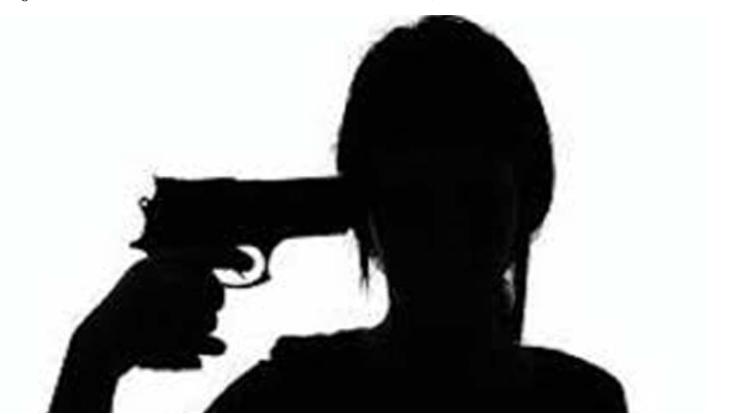 UP NEWS : 17 Years Girl shot herself