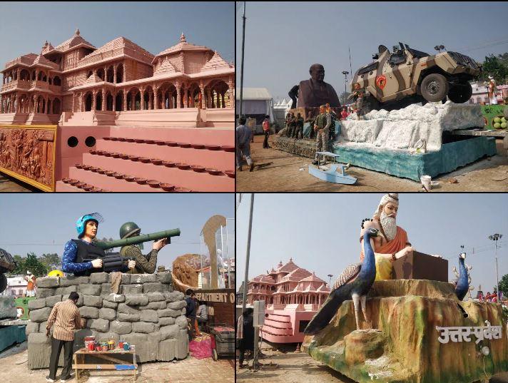 उत्तरप्रदेश की झांकी में दिखेगा अयोध्या का राम मंदिर