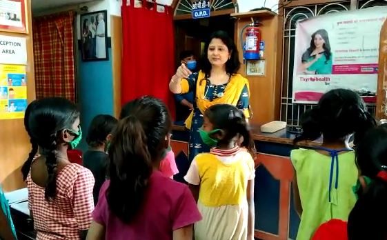 dr shipra gave free coaching for new girl born in banaras