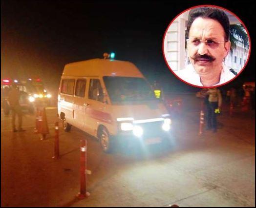 Mukhtar Ansari Jail