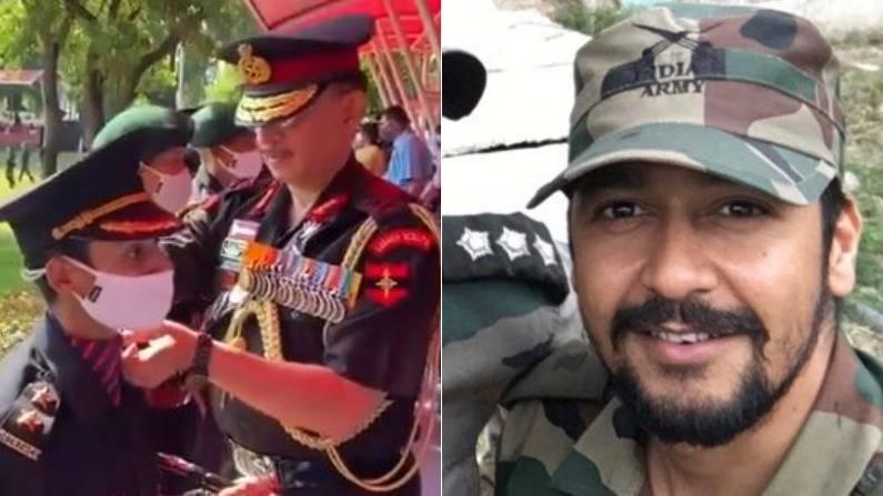 nikita kaul join army