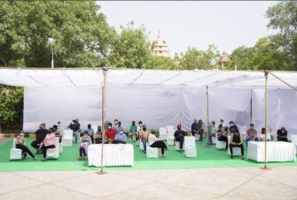 vaccination Mandir Marg