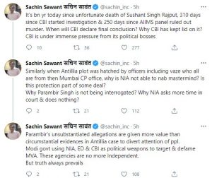 Sachin Sawant Twitter